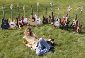 Arjen Lucassen with Guitars