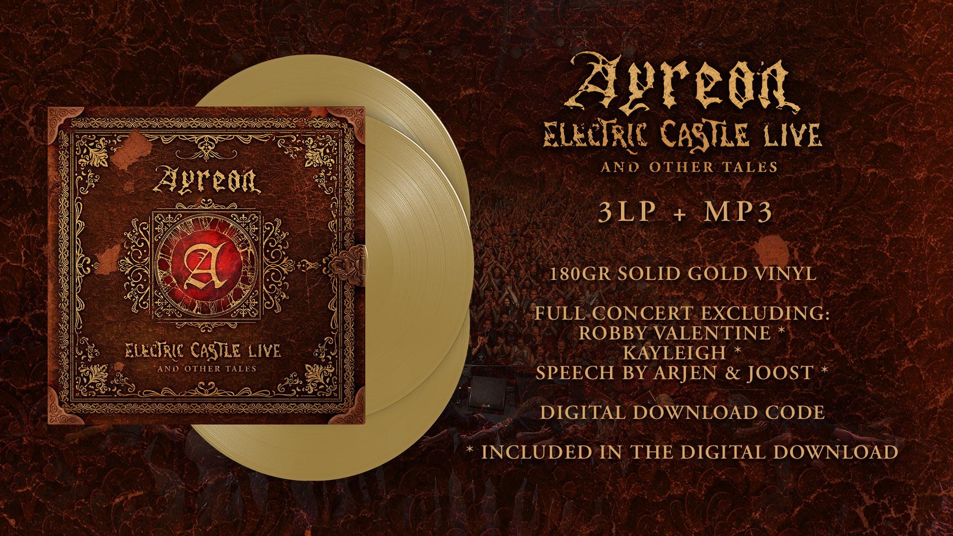 Electric Castle Live gold vinyl