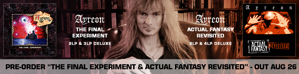 Ayreon Final Experiment and Actual Fantasy Limited Deluxe Sets
