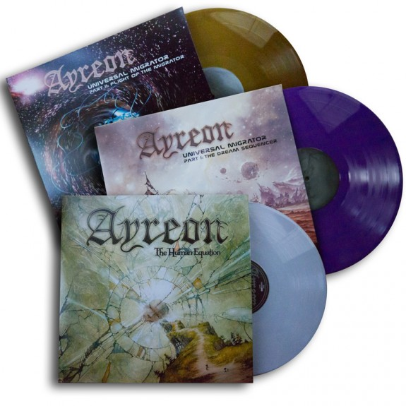 new ayreon vinyls