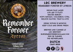 Ayreon Beer Remember Forever