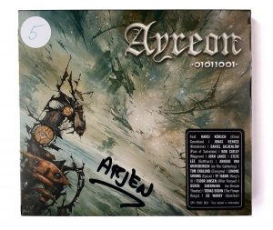 Ayreon 01011001 Jewel Case signed by arjen