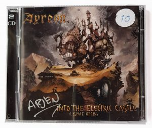 Into the Electric Castle - Jewel Case - Signed by Arjen - InsideOut edition